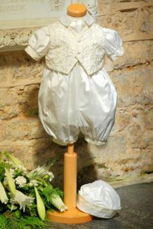 Ivory waistcoat romper