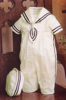 Boys Christening Sailor Outfit