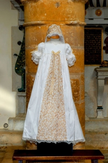 Gold tudor gown