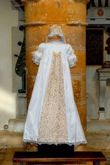 Gold tudor gown