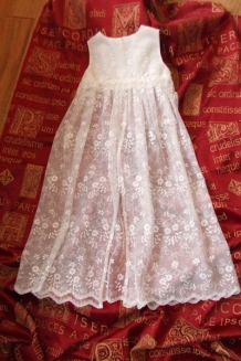Lace Pinafore overlay