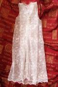 lace waistcoat overlay
